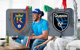Real Salt Lake - San Jose Earthquakes